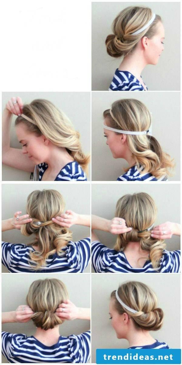 Beach hairstyles make yourself