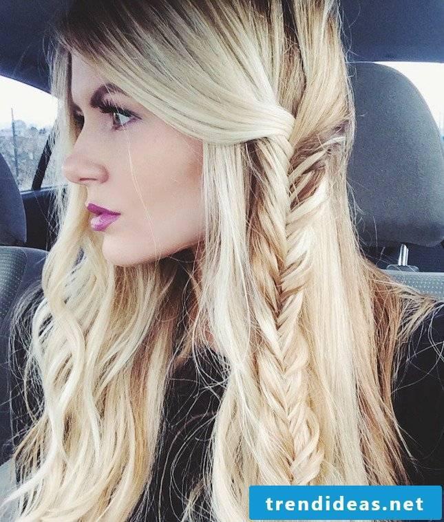 Beach hairstyles braided hairstyles