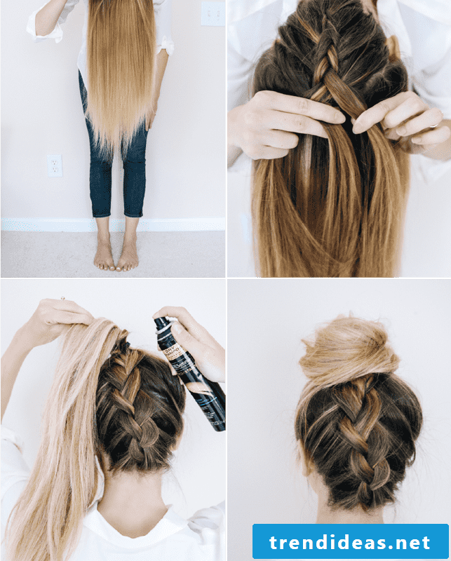 Braids make themselves instructions