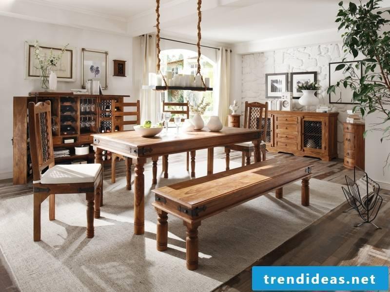 very massive kitchen table