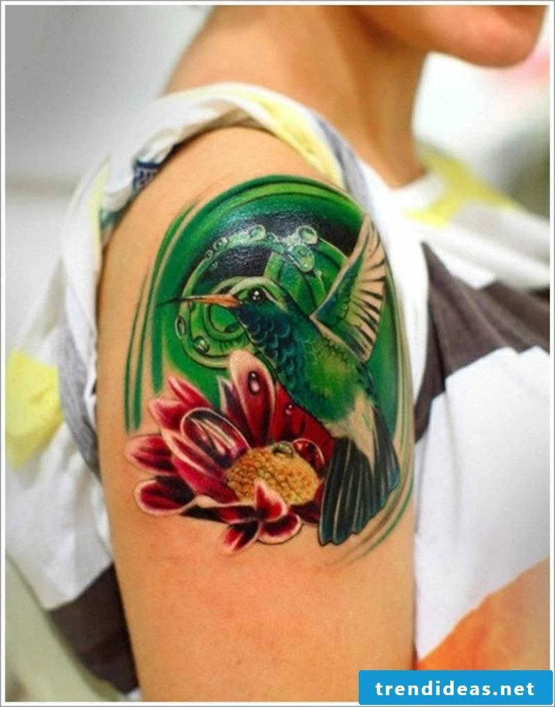 tattoo Hummingbird Hummingbird tattoo designs-17