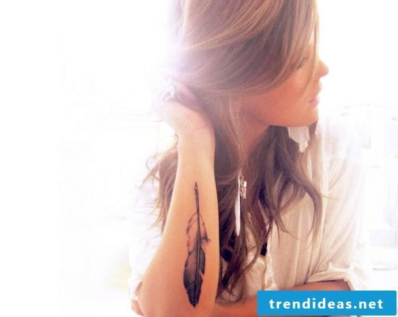 Tattoo on forearm original ideas women pen