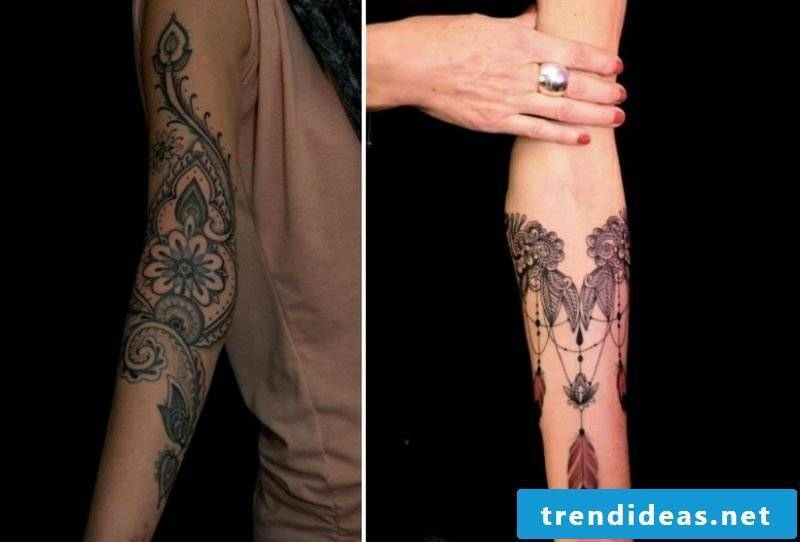 Tattoo on forearm original ideas women