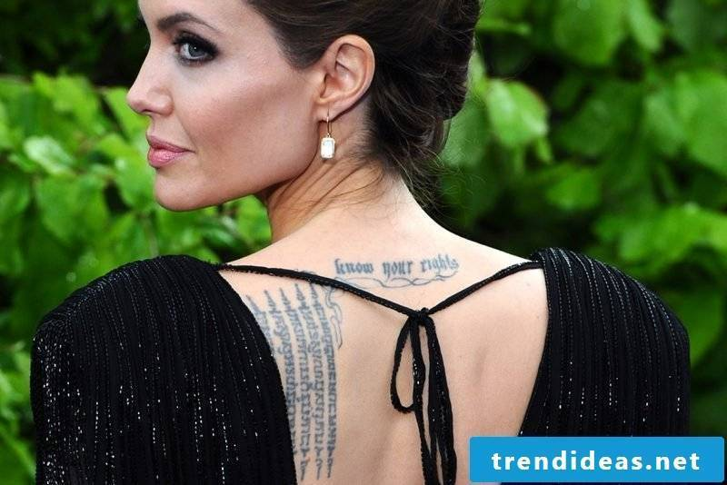 Tattoo sayings of the stars - inspiration for your next tattoo lettering