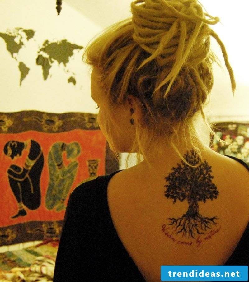 Tree of Life Tattoo Women