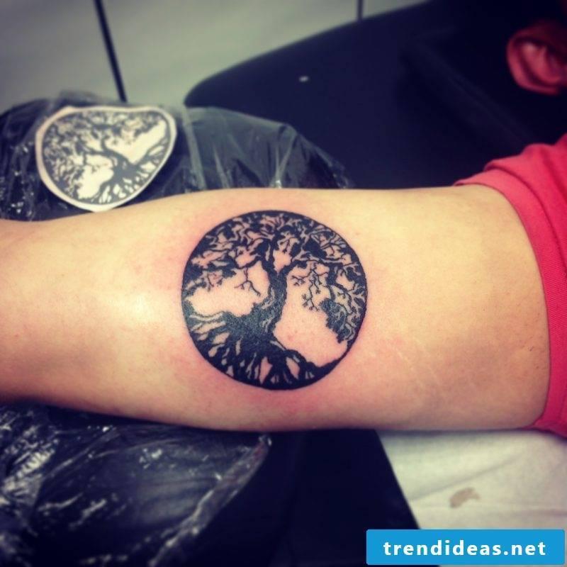 Tree of Life Tattoo Men's Hand