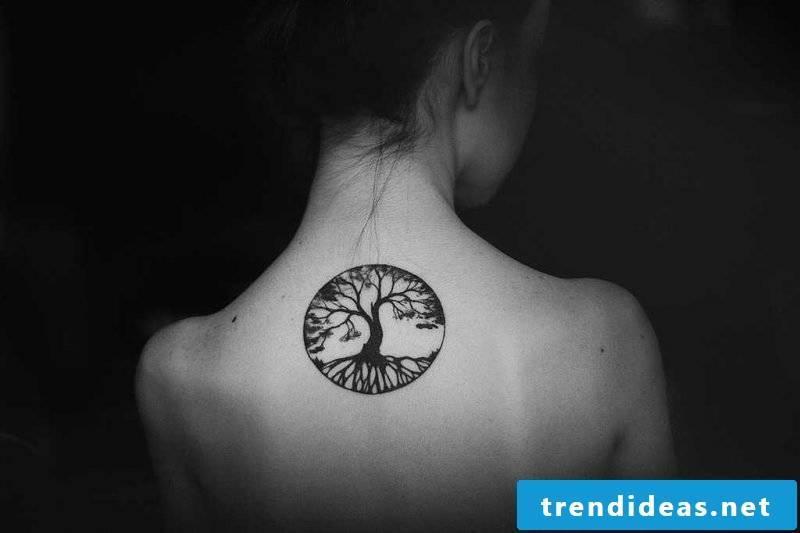 Tree of Life Tattoo Women's back