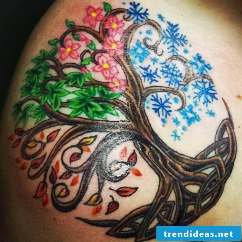 Tree of Life Tattoo Celtic