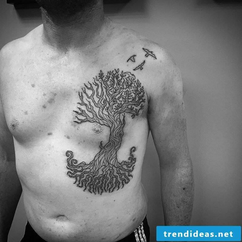 Tree of Life Tattoo Man