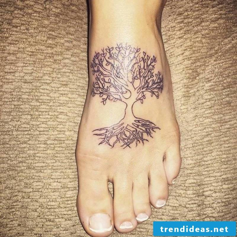 Tree of Life Tattoo Women Ideas