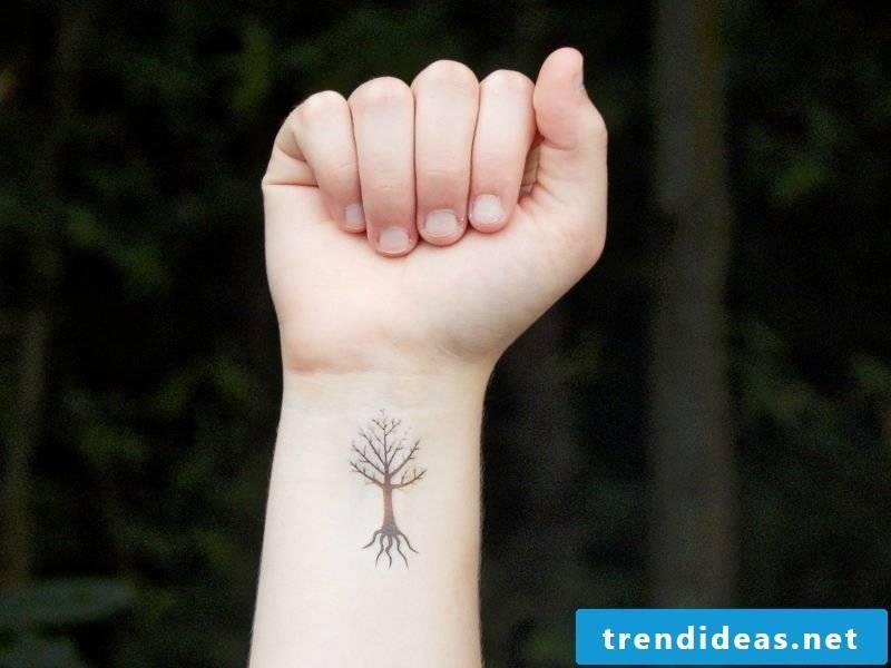 Tree of life tattoo small