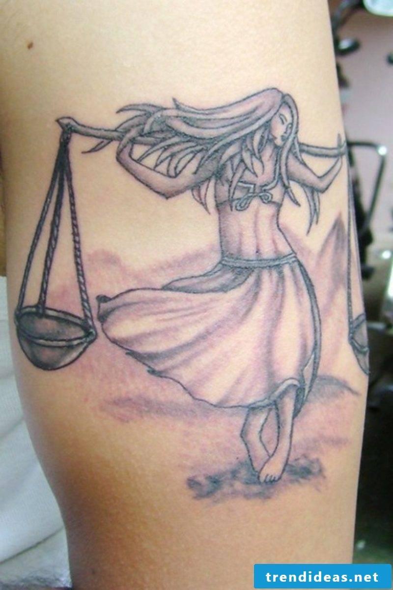 tattoo zodiac sign