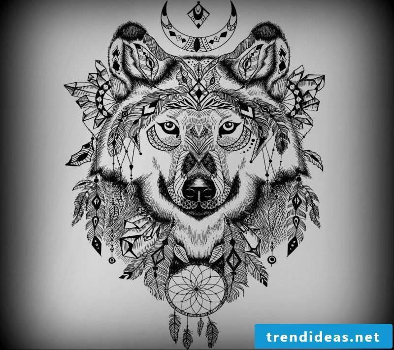 tattoo wolf tattoo motifs tattoos women tattoos men tattoo ideas