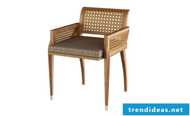 teak furniture chair