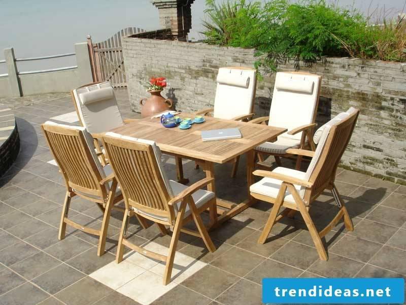 teak furniture