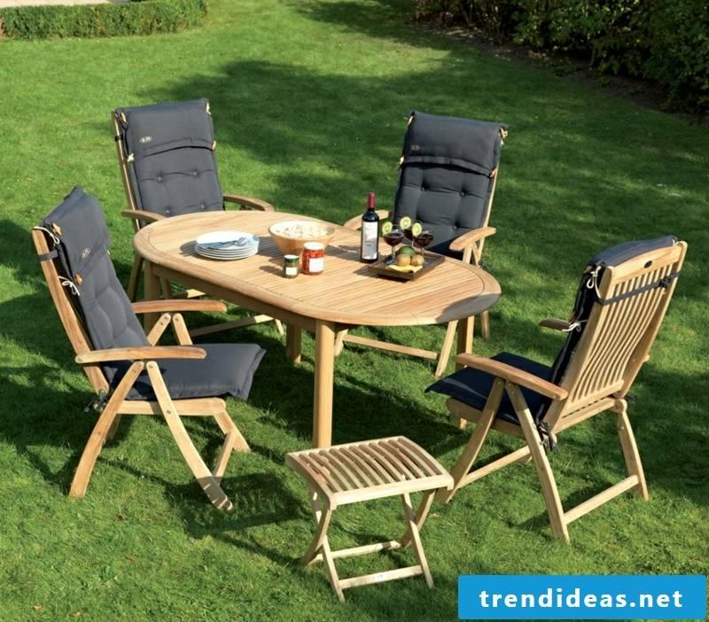 teak furniture outdoor