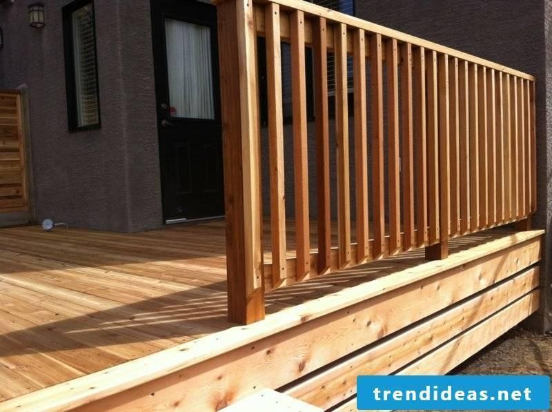 patio railing wood deck baluster designs architecture