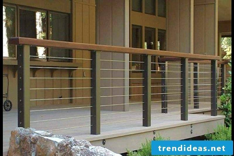 patio railing adorable balcony railing design for modern home ideas using wooden exterior