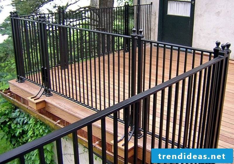 patio railing iron deck railing systems