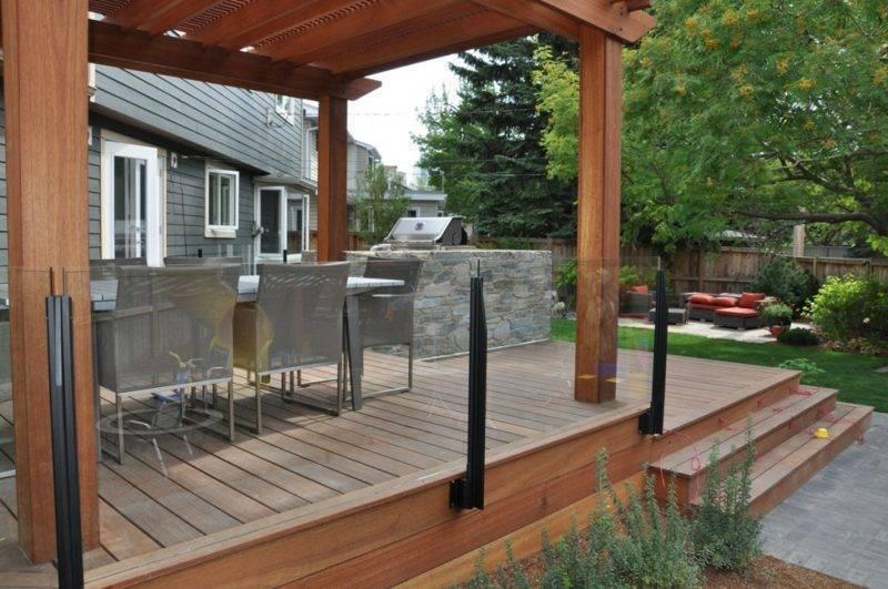 Terrace banister deckview