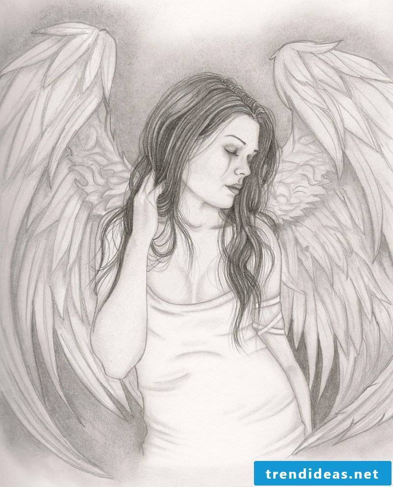 Angel tattoos idea