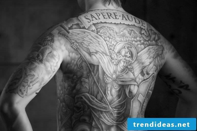Angel Tattoos Michael