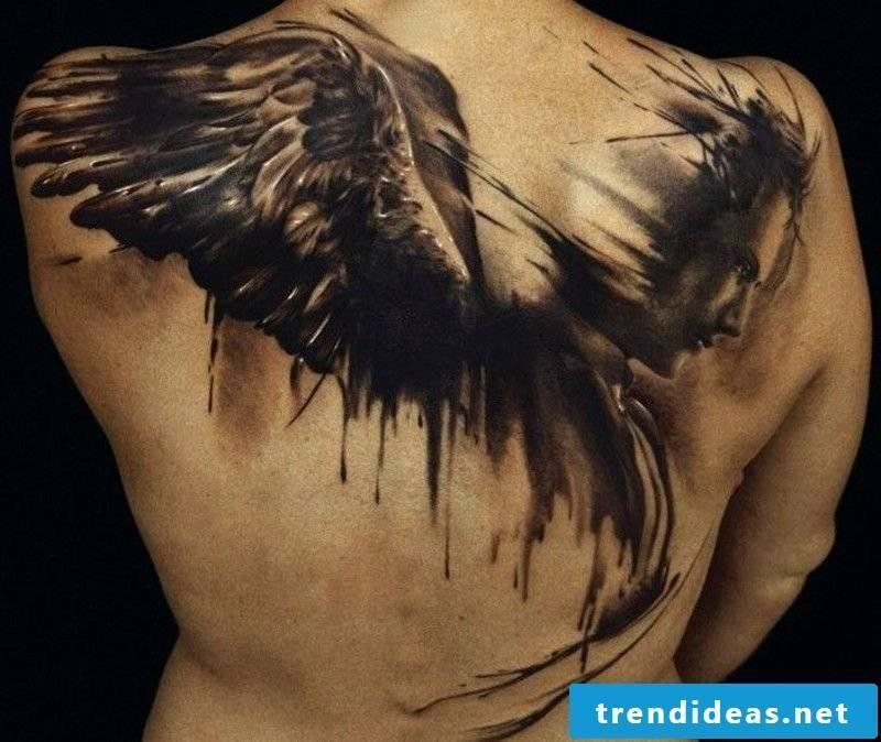 Angel Tattoos Broken Wing