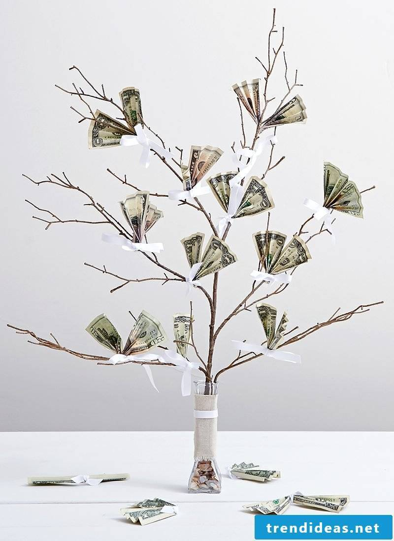 Money gifts DIY ideas