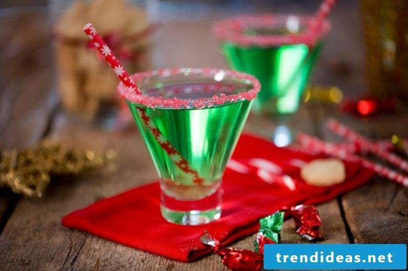 Cocktail recipes for Christmas