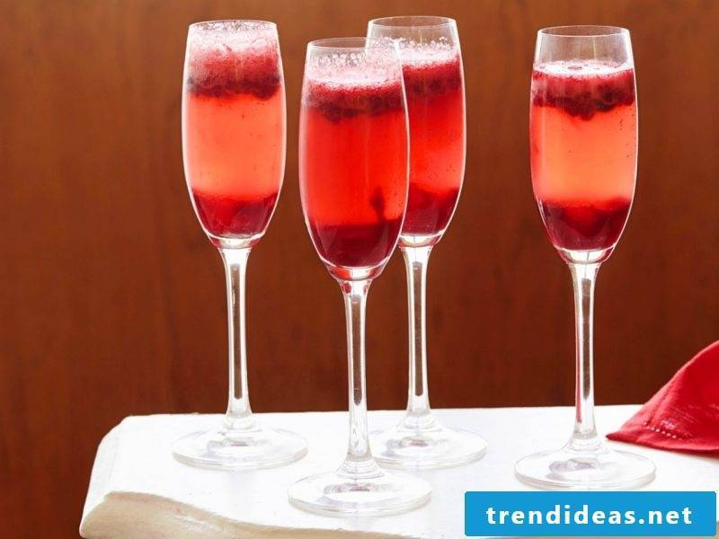 Cocktail recipes with fruits