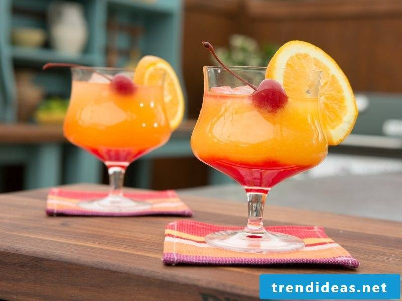 Cocktail Recipes Tequila Sunrise