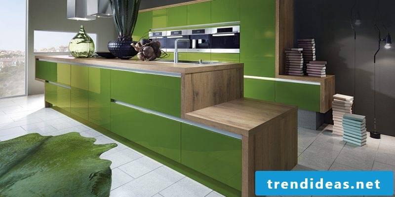 Kitchen brands design green