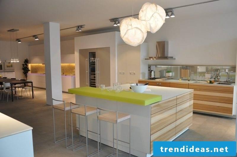 Kitchen brands Warendorf green