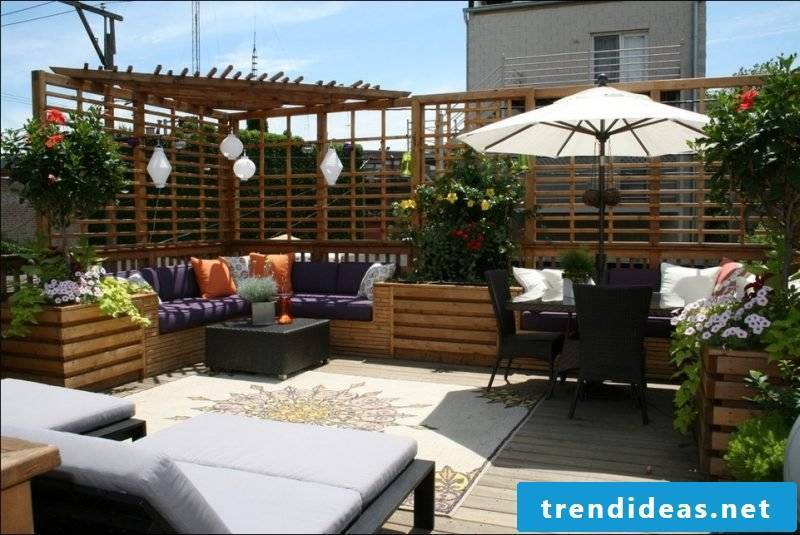 Terraces and garden design pictures and inspirations
