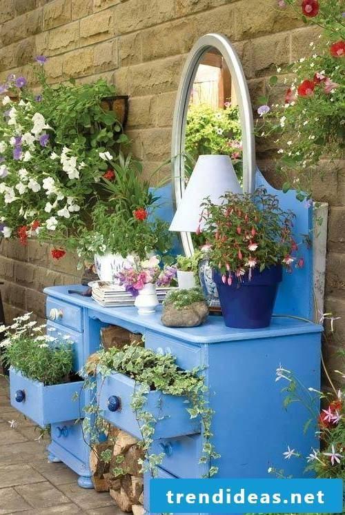 DIY ideas for the terraces