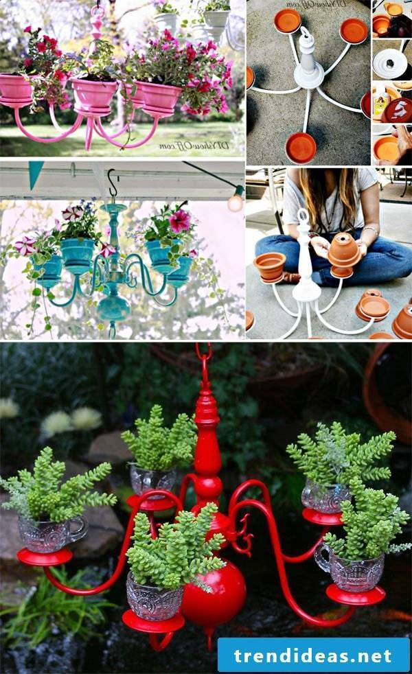 DIY decorations for modern terraces