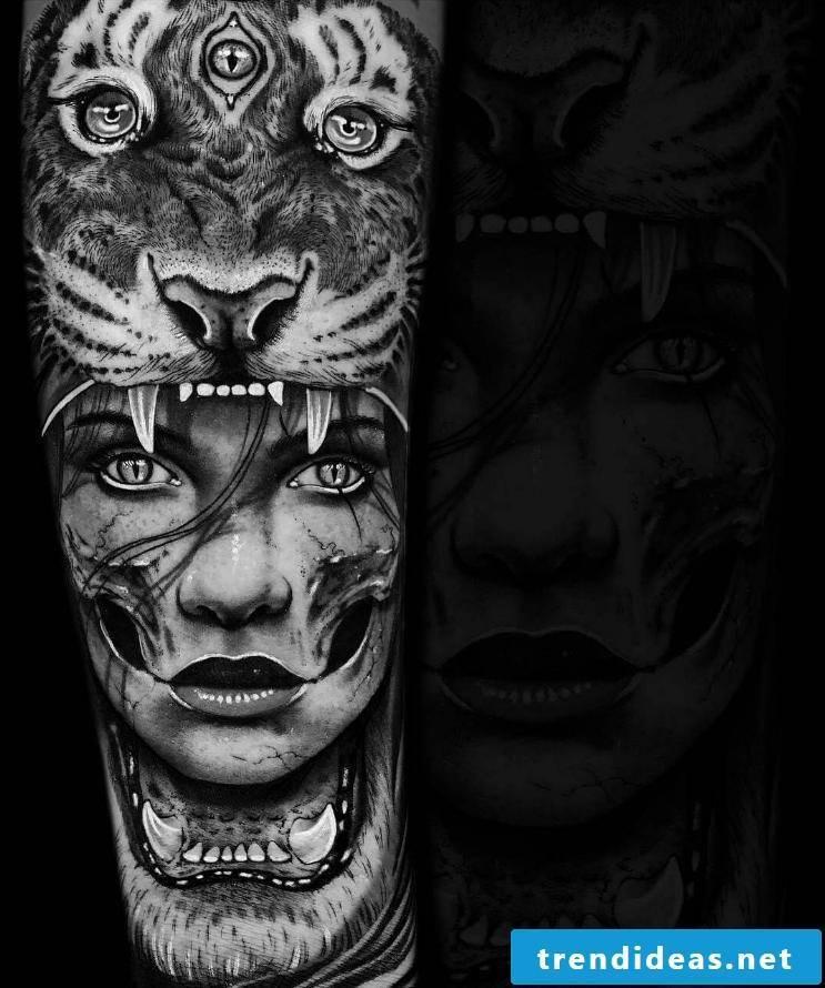 cool tattoo ideas animal head women tattoo motifs women tattoos men daniel silva tattoos