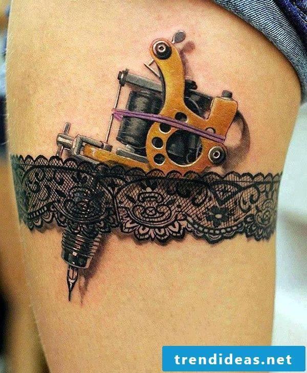 tattoo ideas women leg thigh tattoos women