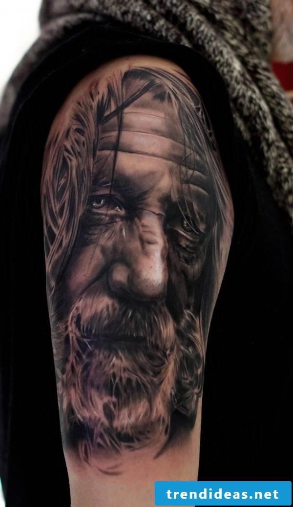 fantastic tattoo ideas portrait tattoos men