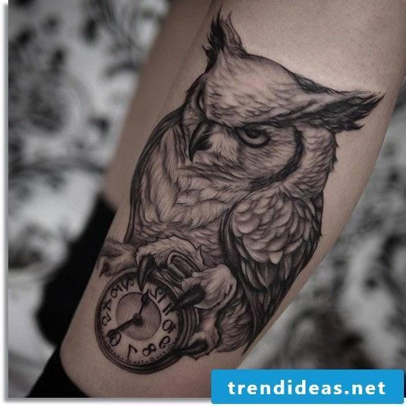 evil owl cool tattoo ideas men tattoos men