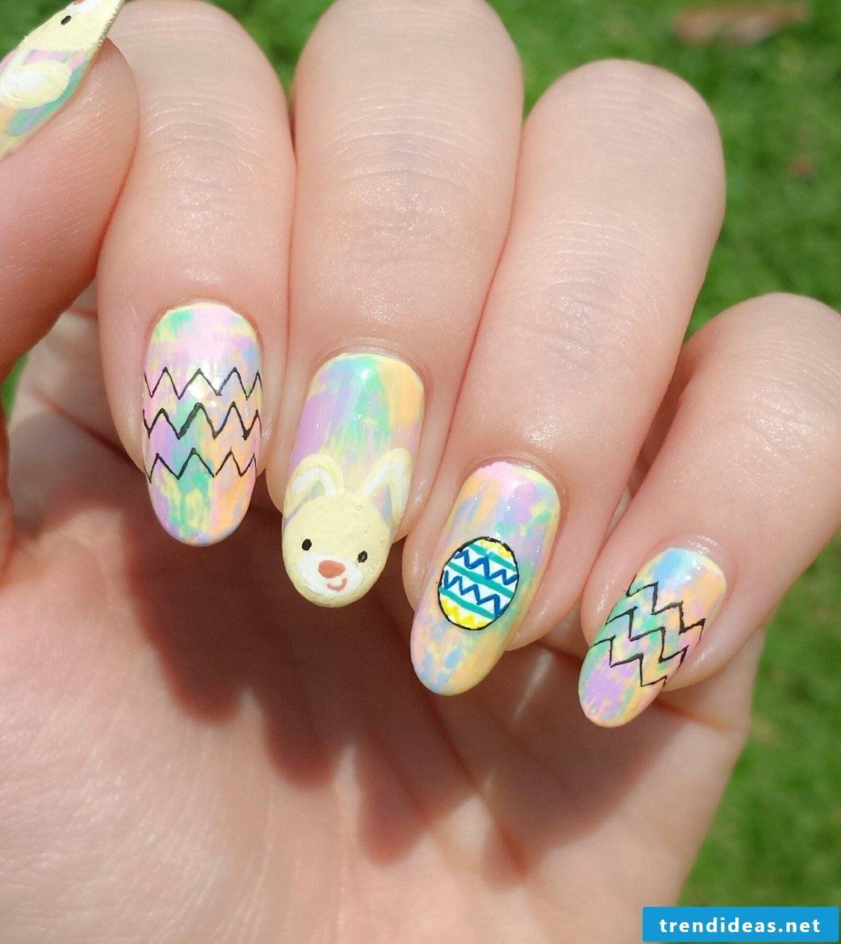 Easter decoration for the nails