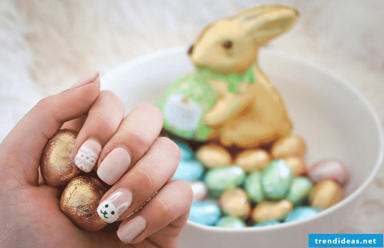 Easter 2018 nail design