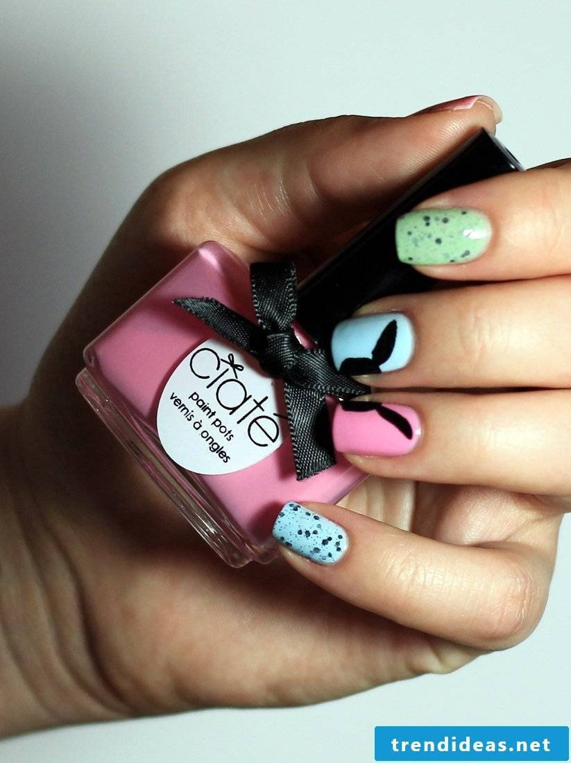 East Nails - Trendy Nail Design for Easter 2018