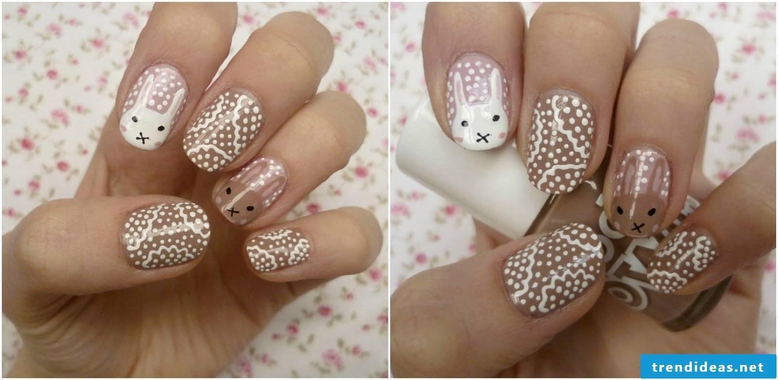 Easter motives for nail design