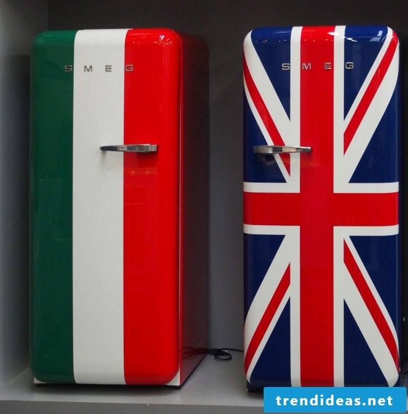 Bosch retro refrigerator Smeg