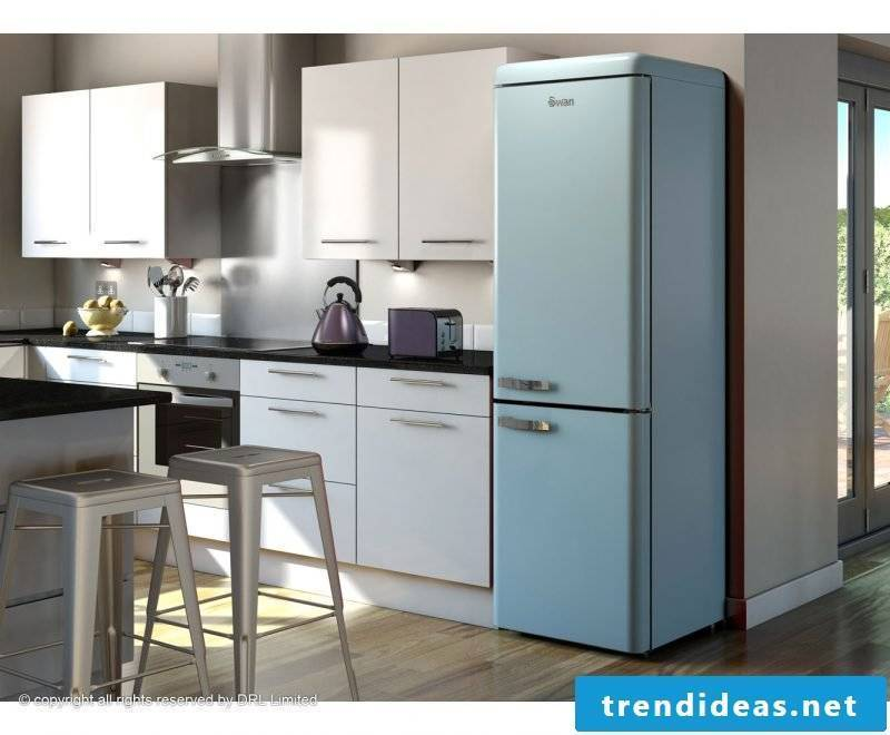 Bosch retro refrigerator Swan