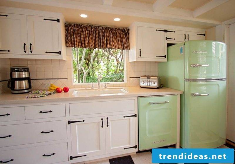 Bosch retro refrigerator vintage look