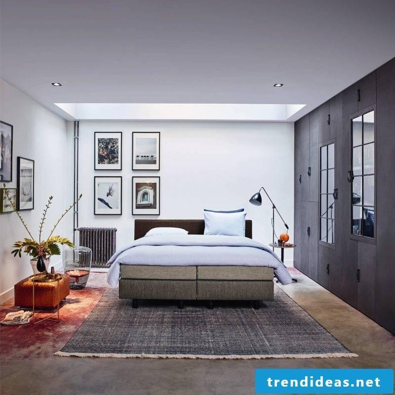 Box spring bed design ideas