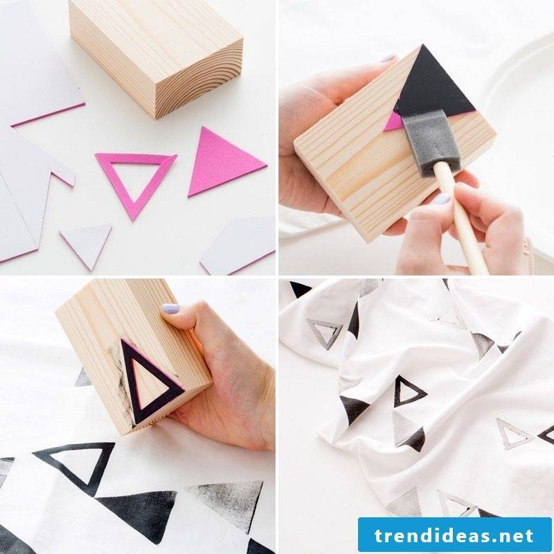 Stamp yourself make DIY instructions