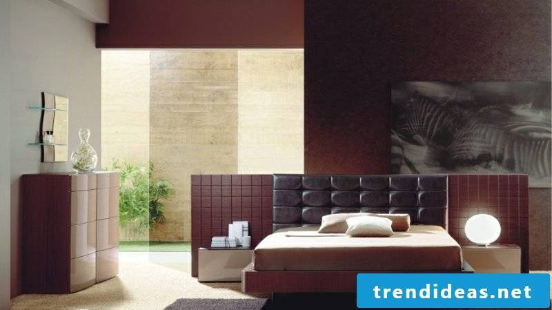 Bedroom Ideas Coloring Burgundy Brown